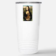 Mona's Dachshund Stainless Steel Travel Mug