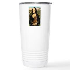 Mona's Dachshund Travel Mug