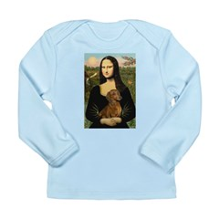 Mona's Dachshund Long Sleeve Infant T-Shirt