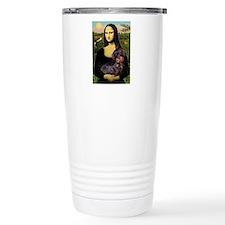 Mona / Dachshund (wire) Travel Mug