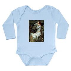 Ophelia's Dachshund Long Sleeve Infant Bodysuit