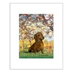 Spring / Dachshund Small Poster