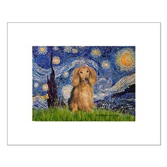 Starry / Doxie (LH-Sable) Posters