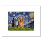 Starry / Doxie (LH-Sable) Small Poster