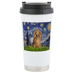 Starry / Doxie (LH-Sable) Travel Mug