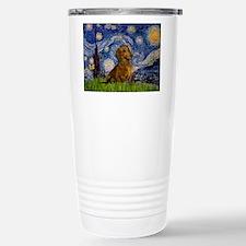 Starry / Dachshund Travel Mug