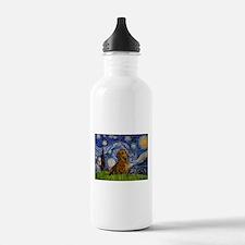 Starry / Dachshund Sports Water Bottle