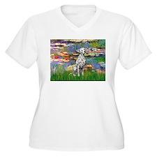 Lilies/ Dalmatian #1 T-Shirt