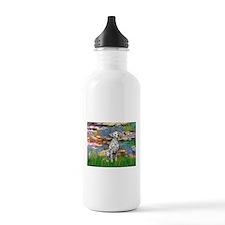 Lilies/ Dalmatian #1 Water Bottle