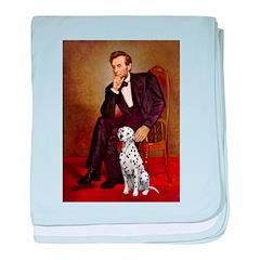 Lincoln / Dalmatian #1 baby blanket