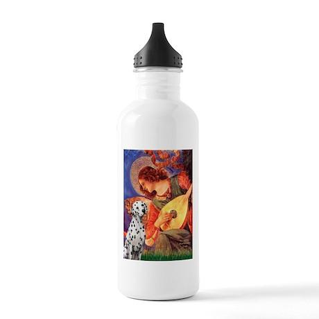 Mandolin / Dalmatian #1 Stainless Water Bottle 1.0