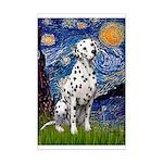 Starry / Dalmatian #1 Mini Poster Print