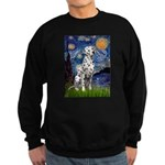Starry / Dalmatian #1 Sweatshirt (dark)