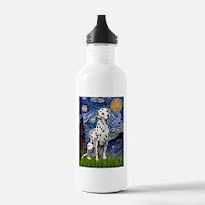 Starry / Dalmatian #1 Water Bottle