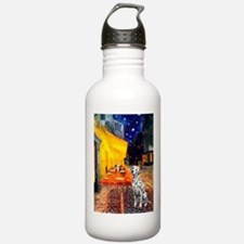 Cafe / Dalmatian #1 Water Bottle