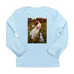 Windflowers / Dalmatian #1 Long Sleeve Infant T-Sh