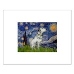 Starry Night / Dalmation Small Poster