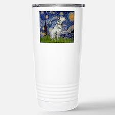 Starry Night / Dalmation Travel Mug