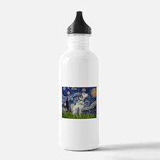 Starry Night / Dalmation Water Bottle
