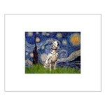 Starry /Dalmatian Small Poster
