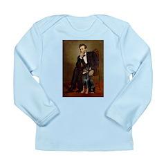 Lincoln's Doberman Long Sleeve Infant T-Shirt