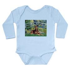 Bridge / Doberman Long Sleeve Infant Bodysuit