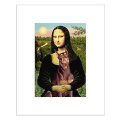 Mona's Red Doberman Posters