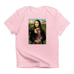 Mona's Red Doberman Infant T-Shirt