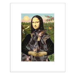Mona's 2 Dobies Posters