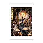 The Queen's Dobie Mini Poster Print