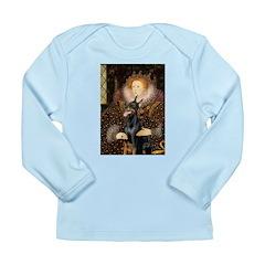The Queen's Dobie Long Sleeve Infant T-Shirt
