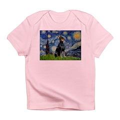 Starry Night Doberman Infant T-Shirt
