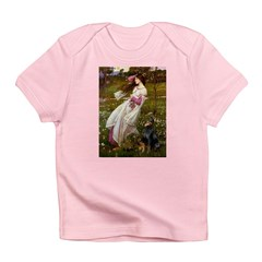 Windflowers / Doberman Infant T-Shirt