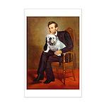 Lincoln's English Bulldog Mini Poster Print