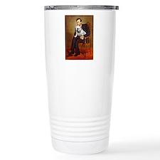 Lincoln's English Bulldog Travel Mug