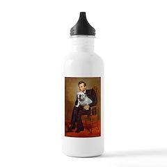 Lincoln's English Bulldog Water Bottle