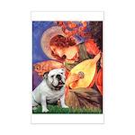 Mandolin Angel & English BD Mini Poster Print