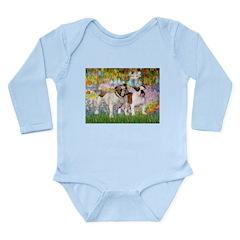 Garden & English BD Long Sleeve Infant Bodysuit
