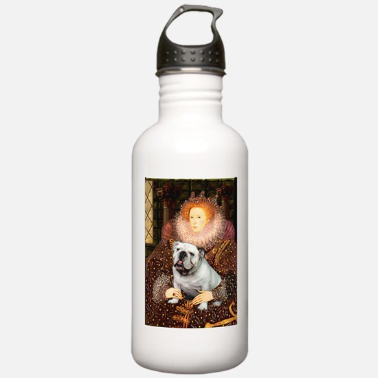 The Queen's English BUlldog Water Bottle