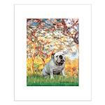 Spring/ English Bulldog (#9) Small Poster