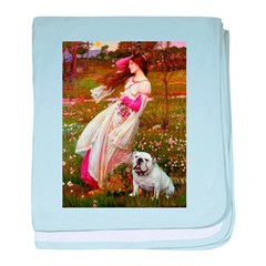 Windflowers / English BD (#9) baby blanket