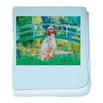 Bridge / English Setter baby blanket