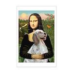 Mona's English Setter Mini Poster Print