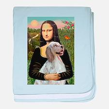 Mona's English Setter baby blanket