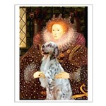 Queen / English Setter Small Poster