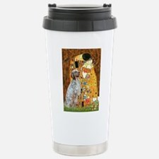 The Kiss / English Setter Travel Mug