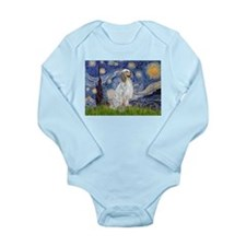 English Setter / Starry Night Long Sleeve Infant B