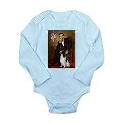 Lincoln / Eng Springer Long Sleeve Infant Bodysuit
