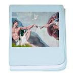 Creation / Eng Springer baby blanket