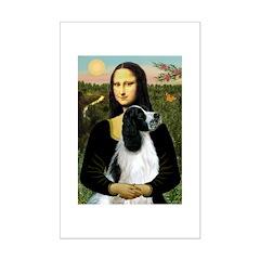Mona Lisa/English Springer Posters